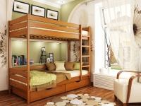 Двохярусне ліжко Дует