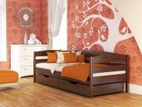 Дерев'яне ліжко Нота+