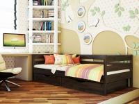 Дерев'яне ліжко Нота