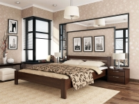 Дерев'яне ліжко Рената