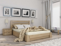 Дерев'яне ліжко Селена