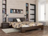 Дерев'яне ліжко Титан