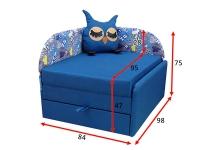 Детский диван Сова 0K