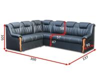 Угловой диван Султан 32