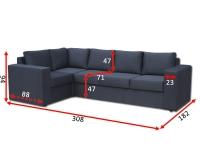 Угловой диван Чикаго 31 В