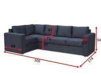 Кутовий диван Чикаго 31-А