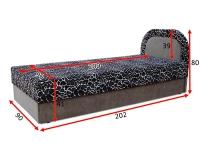 Ліжко Рів'єра  90