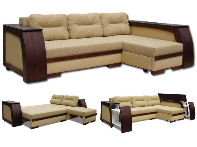 Угловой диван на кухню, фото